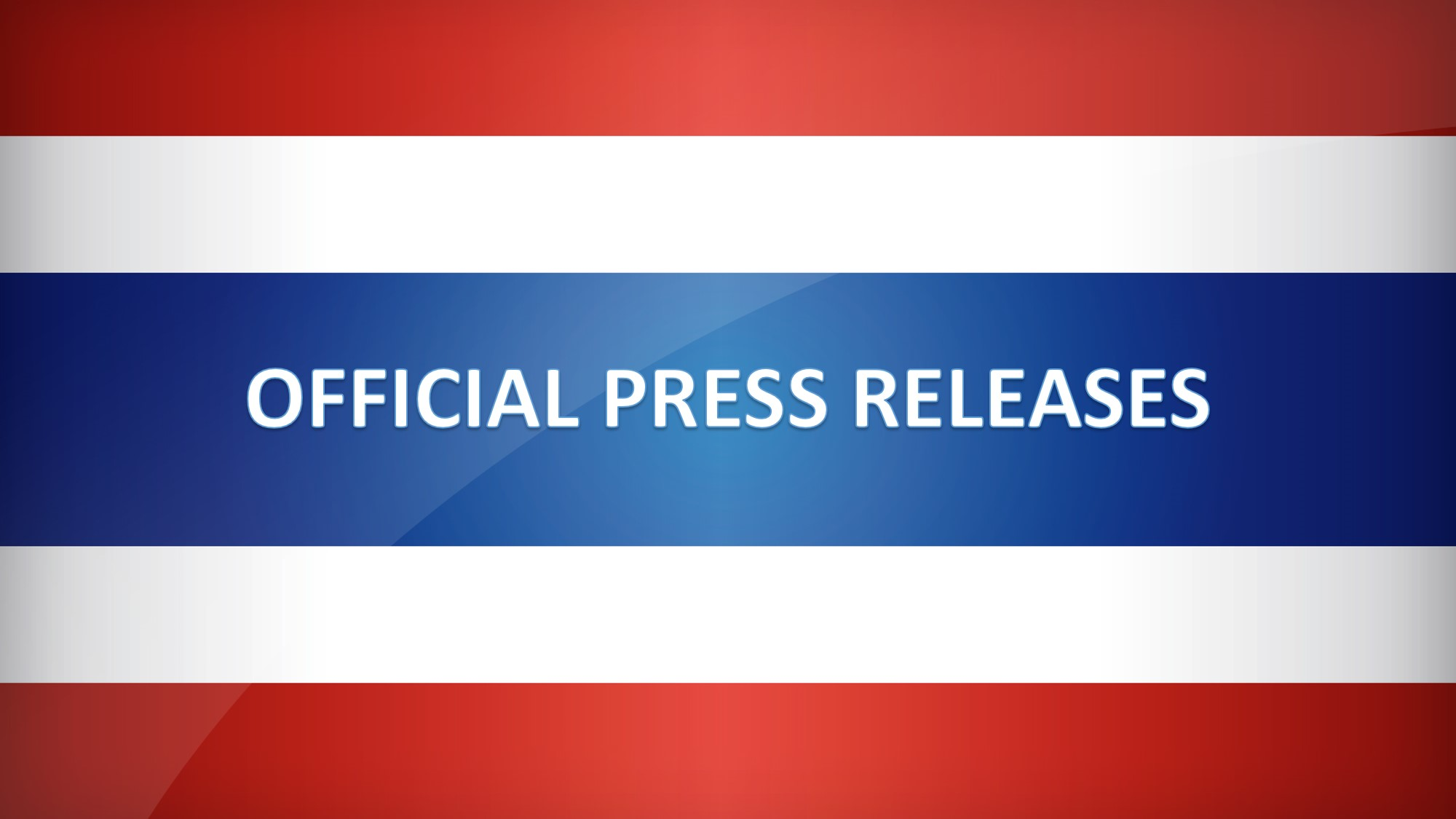 Official Press Releases